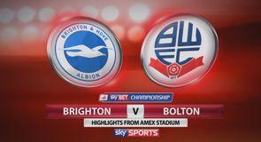 Brighton 2-1 Bolton