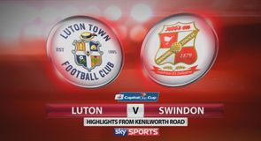 Luton 1-2 Swindon