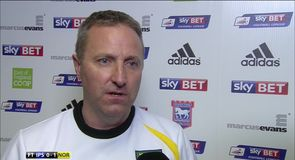 Neil Adams happy with Grabban