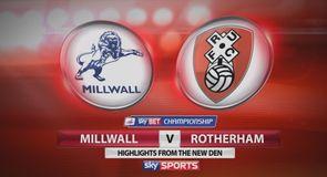 Millwall 0-1 Rotherham