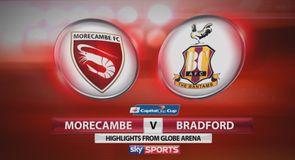 Morecambe 0-1 Bradford
