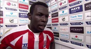 Diouf stunner sinks City