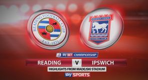 Reading 1-0 Ipswich