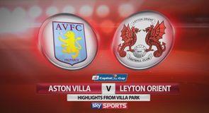 Aston Villa 0-1 Leyton Orient