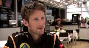 Grosjean looking ahead