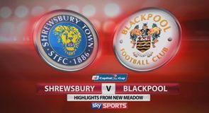 Shrewsbury 1-0 Blackpool