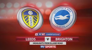 Leeds 0-2 Brighton