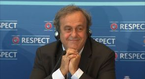 Platini - I won't stand against Blatter