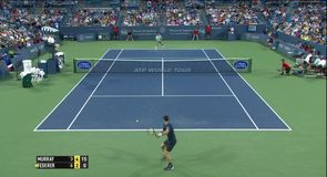 Murray v Federer - Highlights