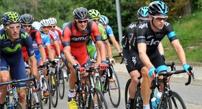 Everyone wanted to be at the front for a key stage in the fight for the Eneco Tour title