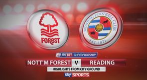 Nottingham Forest 4-0 Reading