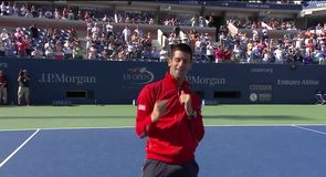 Novak Djokovic shows off his dance moves