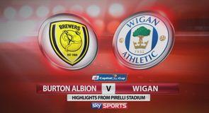 Burton 2-1 Wigan
