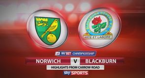 Norwich 3-1 Blackburn
