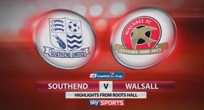 Southend 1-2 Walsall