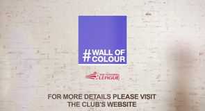 Football League's Wall of Colour