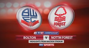 Bolton 2-2 N Forest