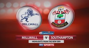 Millwall 0-2 Southampton