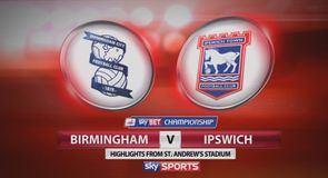 Birmingham 2-2 Ipswich