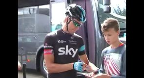 On Board with Team Sky at the Eneco Tour