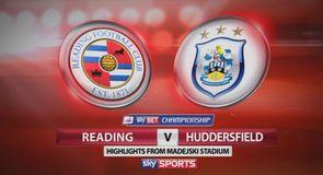 Reading 1-2 Huddersfield