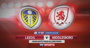 Leeds 1-0 Middlesbrough