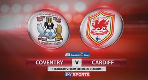 Coventry 1-2 Cardiff