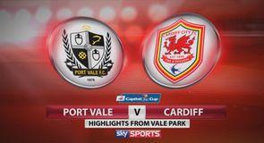 Port Vale 2-3 Cardiff