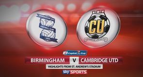 Birmingham 3-1 Cambridge Utd