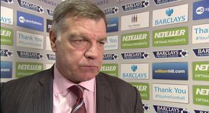 Perfect performance for Allardyce