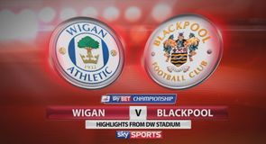 Wigan 1-0 Blackpool