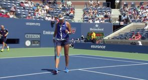 Azarenka taking control