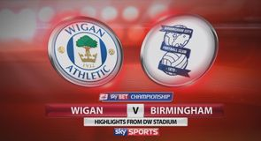 Wigan 4-0 Birmingham
