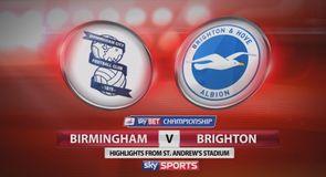 Birmingham 1-0 Brighton