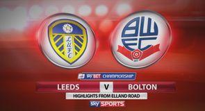 Leeds 1-0 Bolton