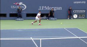 Djokovic v Federer - US Open 2011