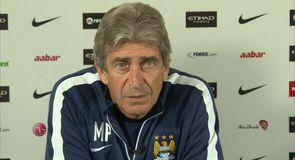 Pellegrini happy with squad
