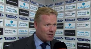 Disappointing result for Koeman