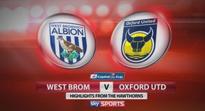 West Brom 1-1 Oxford AET