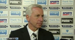 Pardew proud of performance