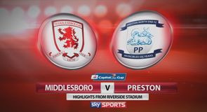 Middlesbrough 3-1 Preston