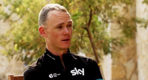 Froome describes crash - Exclusive