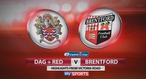 Dag & Red 6-6 Brentford