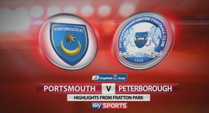 Portsmouth 1-0 Peterborough