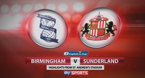 Birmingham 0-3 Sunderland