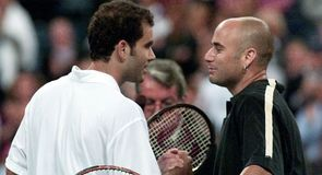 Sampras v Agassi - US Open 2002