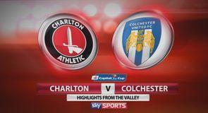 Charlton 4-0 Colchester