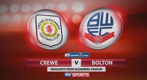 Crewe 2-3 Bolton