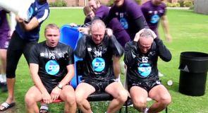 McClaren's ice bucket challenge