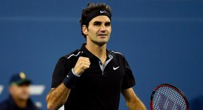 Easy win for Federer